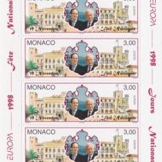 MONACO 1998 EUROPA CEPT