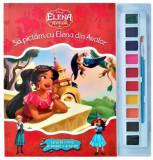 Disney. Elena din Avalor. Să pictăm cu Elena din Avalor. Carte de colorat cu pensulă și acuarele
