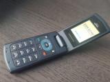 TELEFON DE COLECTIE CU CLAPETA SAMSUNG SGH-S710I IMPECABIL SI DECODAT+INCARCATOR, Bleu, Neblocat