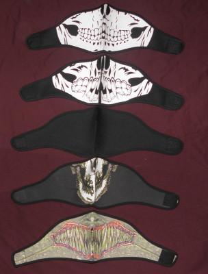 Masca mandibula schelet,gen cagula,, moto,scuter,ATV, Haloween,cu scai,40 bucata foto