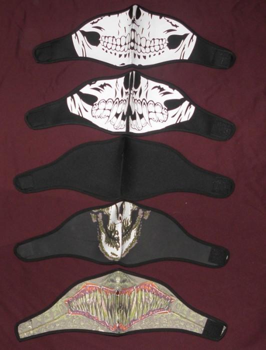 Masca mandibula schelet,gen cagula,, moto,scuter,ATV, Haloween,cu scai,40 bucata