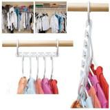 Set 10 Organizatoare haine, pentru 50 Umerase