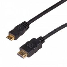 Cablu AKYGA AK-HD-10M HDMI Male - miniHDMI Male 1m Negru