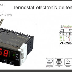 Termostat electronic digital Controler temperatura 12V  220V STC-1000