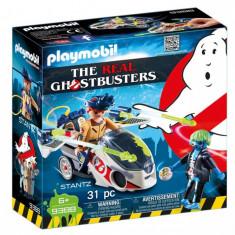 Playmobil Ghostbuster - Stantz si motocicleta