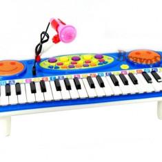Orga electronica de jucarie / Orga pentru copii cu microfon si lumini