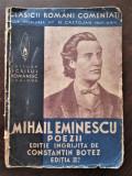 Mihai Eminescu - Poezii: Carte veche, Perioada interbelica.