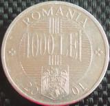 Moneda 1000 Lei - ROMANIA, anul 2001  *cod 846 B, Aluminiu