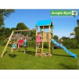 Spatiu de joaca Castle si Swing - JungleGym