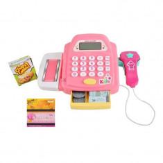 Casa De Marcat Electronica, Set De Joaca Pentru Copii Cu Scaner Si Calculator