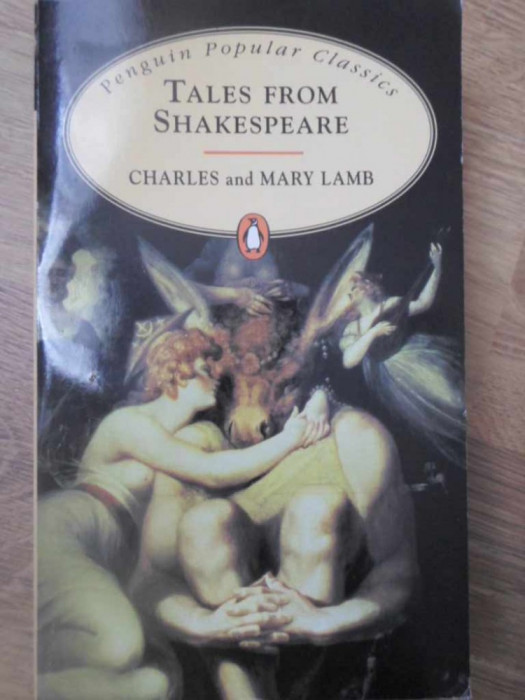 TALES FROM SHAKESPEARE-CHARLES AND MARY LAMB