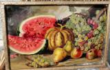 Natura statica ulei pe carton Barcanescu
