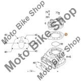 MBS Garnitura chiuloasa KTM 125 SX 2001 2001, 1.1mm, #37, Cod Produs: 50330037000KT