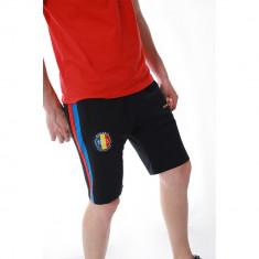 Pantaloni scurti barbati, bumbac, sport, model de vara, slim fit, buzunare laterale, model romania - ES2RO18S1 foto
