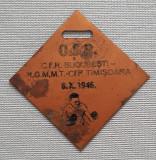 Medalie OSP - 1946 Box - CFR Bucuresti - Timișoara