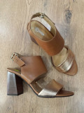 LICHIDARE STOC! Superbe sandale dama noi piele naturala fina foarte comode 39 !
