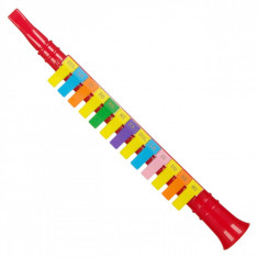 Flaut de jucarie, actual investing, 44 cm, multicolor