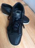 Adidași din piele naturală firma Adidas, mărimea 38,5! Sunt noi!, 38.5, Negru, Piele naturala
