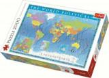 Cumpara ieftin Puzzle Trefl Harta politica a lumii, 2000 piese