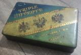 Triple Entente// cutie romaneasca de tigari, din tabla, perioada interbelica