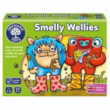 Joc educativ Cizmulitele de Cauciuc SMELLY WELLIES, orchard toys