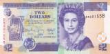 Bancnota Belize 2 Dolari 2014 - P66e UNC