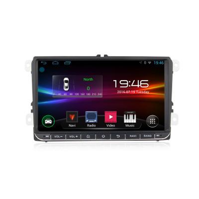 Sistem navigatie,VW, SKODA, SEAT,ecran 9 inch,Wi-fi,2DIN, Camera marsarier si Sistem DVR CADOU foto