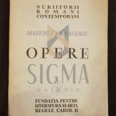 CARAGIALE MATEIU I. (MATEIU I. CARAGIALE) - OPERE (Editie Definitiva Ingrijita de PERPESSICIUS), 1936, Bucuresti