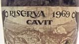 B 18- VIN 4 VICARIATI, RISERVA CAVIT, recoltare 1969 cl 68 gr 12, Sec, Rosu, Europa
