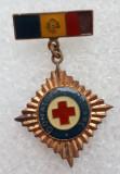Insigna medicina - Donator de onoare - Cu defect, Romania de la 1950