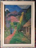 Tablou Antichitati Puzzle Taranul la munte vechi peste 20 ani, Natura, Pastel, Altul