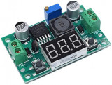 LM2596S Adjustable Step-Down Module + LED Voltmeter