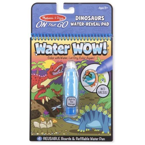Carnet de Colorat Apa Magica Dinozauri