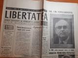 """Libertatea 16-17 octombrie 1990-mircea dinescu:""""poezia s-a exilat din romania!"""""""