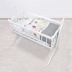 Set de pat pentru bebelusi Teddy Bear And Friends 5 piese