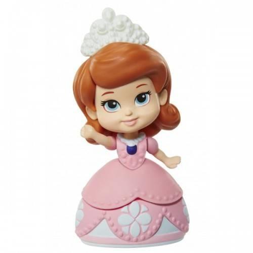Figurina JAKKS Papusa mini 8 cm Sofia Intai Roz