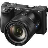 Aparat foto mirrorless ILCE-6500Z, 24.2 MP, 4K, Bluetooth, Wi-Fi, NFC, Negru + Obiectiv Vario-Tessar T E 16-70mm F4 ZA OSS, Sony