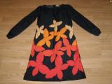 Costum carnaval serbare rochie fluture pentru adulti marime S, Din imagine