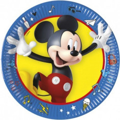 Farfurii Mickey Mouse Pals at Play 20 cm set 8 buc
