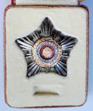 Steaua RSR cls III   Insemnul ordinului in cutie