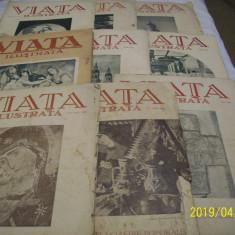 Revista ''viata ilustrata'' 9 bucati