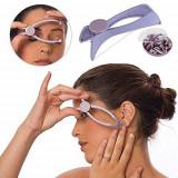 Epilator facial cu ata din plastic si fir de bumbac
