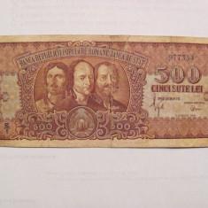 CY - 500 lei 1949 Romania / Horea, Closca si Crisan / raruta
