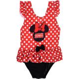 Costum baie cu volanase Minnie SunCity ET0051 Rosu