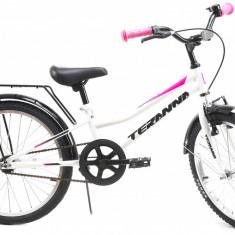 Bicicleta Copii Dhs 2002 Alb 20 Inch