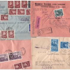 Romania 1948-1951 - 4 plicuri circulate