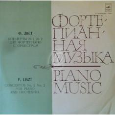 F. Liszt - Concerto for piano and orchestra (Vinil)