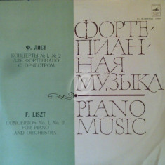 F. Liszt - Concerto for piano and orchestra (Vinil)