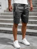Pantaloni scurți grafit bărbați Bolf JX383