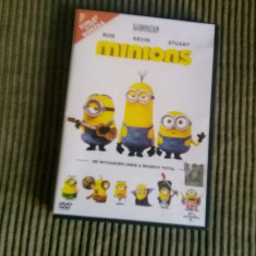 DVD Minions (Minionii) dublat in limba romana